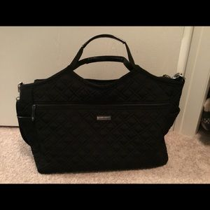 Vera Bradley Carryall Travel Bag Classic Black